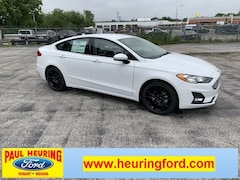 New 2019 Ford Fusion SE Sedan 3FA6P0HD0KR247833 for sale in Hobart, IN