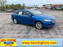 New 2019 Ford Fusion SE Sedan 3FA6P0HD3KR195064 for sale in Hobart, IN