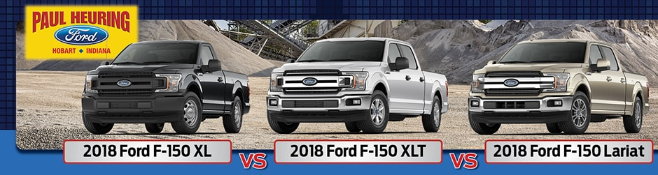Ford F  Xl Vs Xlt Vs Lariat