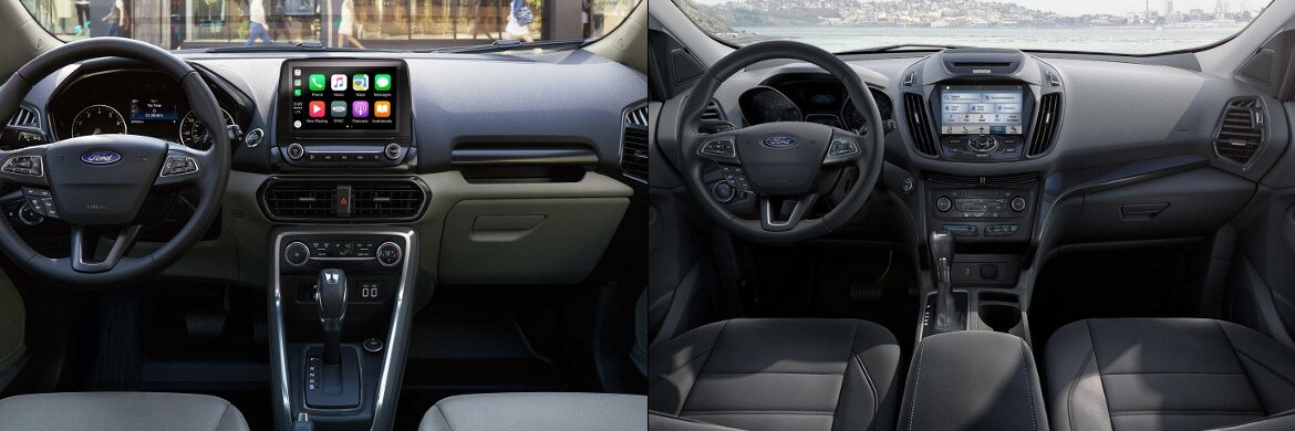 2018 Ford EcoSport & Escape Interior