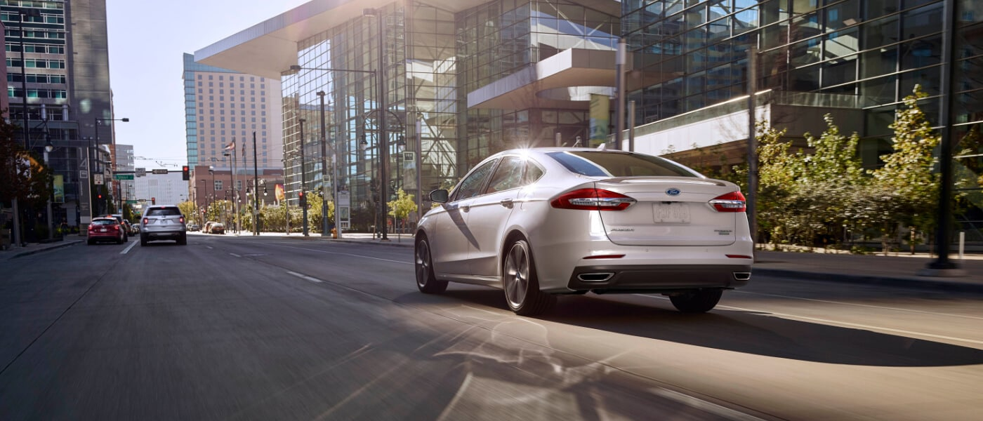 2020 Ford Fusion rear exterior view