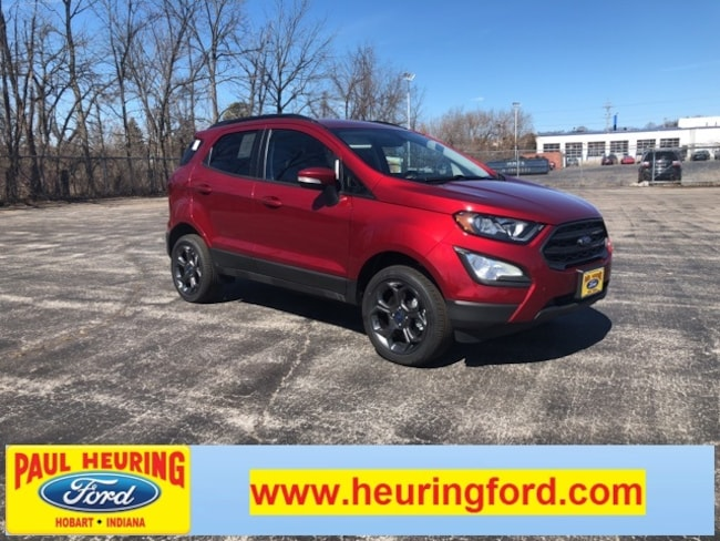 New 2018 Ford EcoSport SES Crossover for sale in Hobart, IN