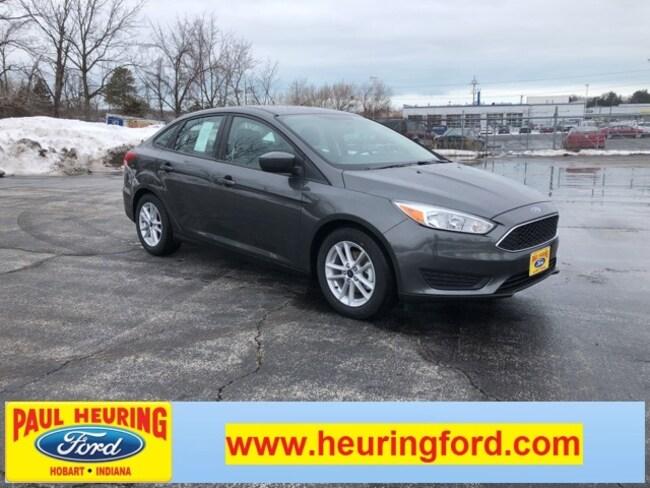 New 2018 Ford Focus SE Sedan for sale in Hobart, IN
