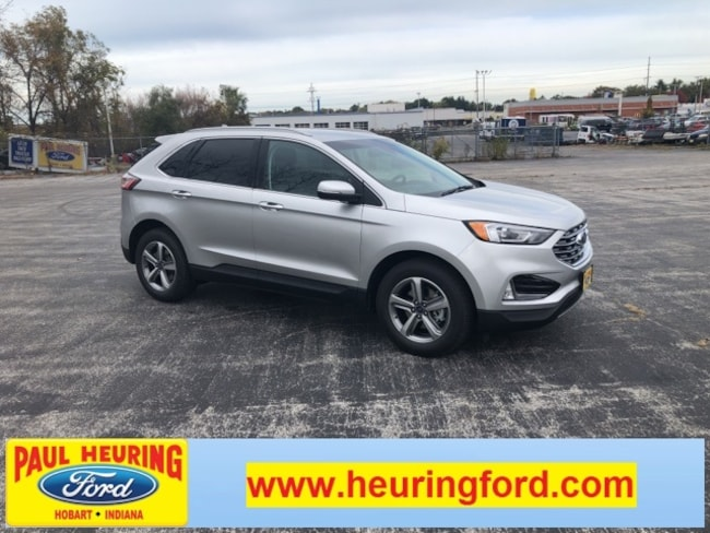 New 2019 Ford Edge SEL Crossover for sale in Hobart, IN