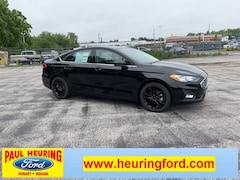 New 2019 Ford Fusion SE Sedan 3FA6P0HD1KR230183 for sale in Hobart, IN