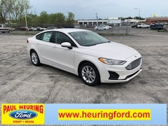 New 2019 Ford Fusion SE Sedan 3FA6P0HD7KR195066 for sale in Hobart, IN