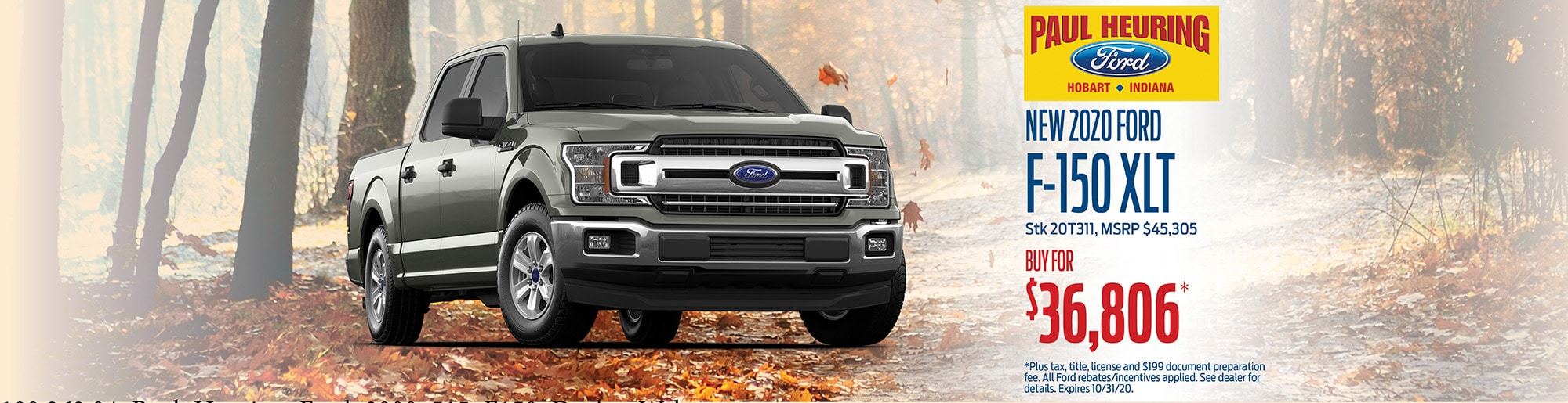 2020 Ford Ranger XLT, Buy for $36,806 | Hobart, IN