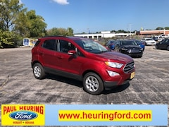 New 2018 Ford EcoSport SE Crossover MAJ6P1UL1JC226523 for sale in Hobart, IN