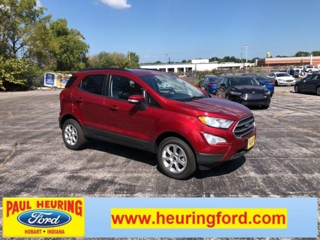 New 2018 Ford EcoSport SE Crossover for sale in Hobart, IN