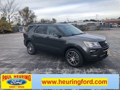 New 2019 Ford Explorer Sport SUV 1FM5K8GT8KGA27094 for sale in Hobart, IN