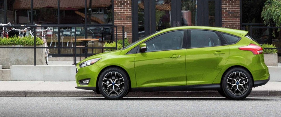 2018 Ford Focus SEL.