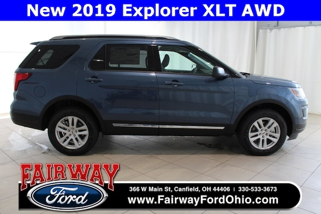 New 2019 Ford Explorer XLT AWD SUV in Canfield