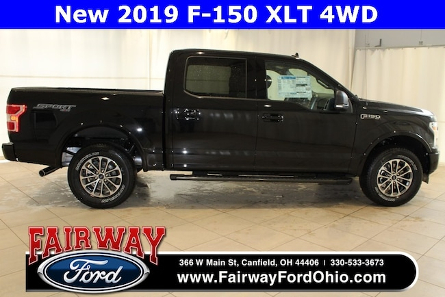 New 2019 Ford F-150 XLT 4WD Truck in Canfield