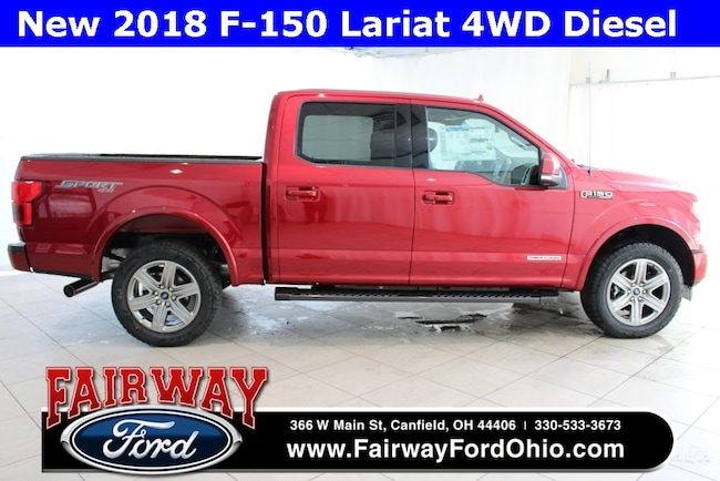 New 2018 Ford F-150 Lariat 4WD Truck in Canfield