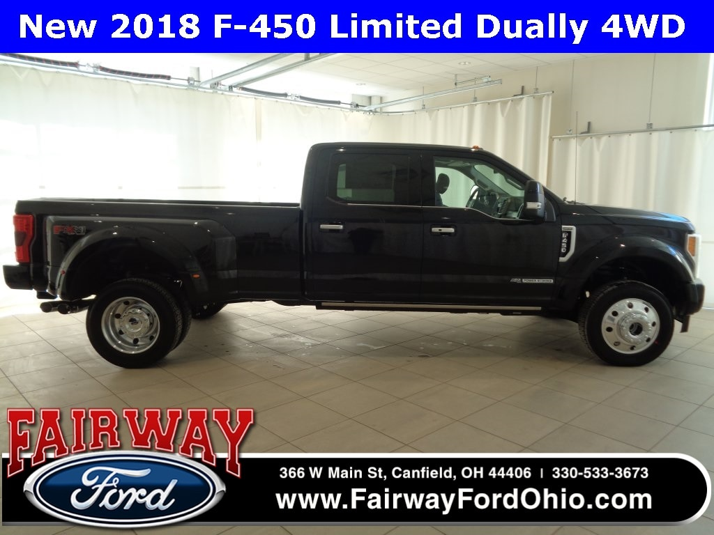 2018 Ford F-450SD Limited DRW 4WD Truck