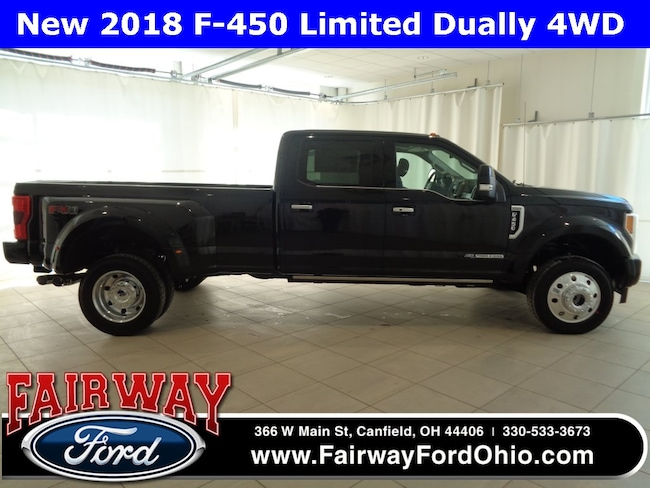 New 2018 Ford F-450SD Limited 4WD Truck in Canfield