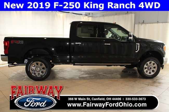 New 2019 Ford F-250SD King Ranch 4WD Truck in Canfield