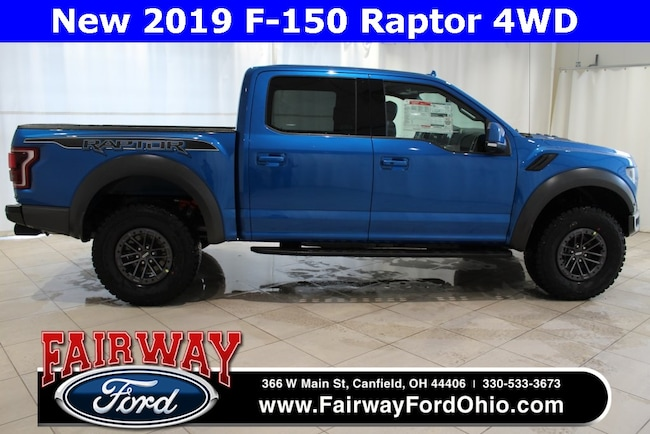 New 2019 Ford F-150 Raptor 4WD Truck in Canfield