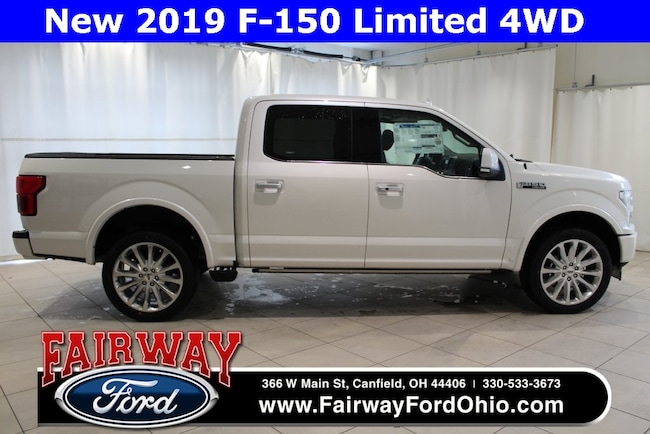 New 2019 Ford F-150 Limited 4WD Truck in Canfield