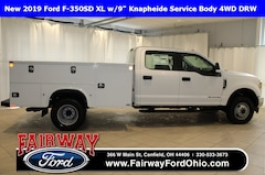 2019 Ford F-350SD XL  w/9 Knapheide Service Body 4WD DRW 4WD Cab/Chassis