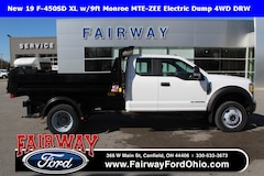2019 Ford F-450SD XL w/9ft Monroe MTE-ZEE Electric Dump 4WD DRW 4WD Cab/Chassis