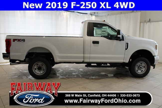 New 2019 Ford F-250SD XL 4WD Truck in Canfield