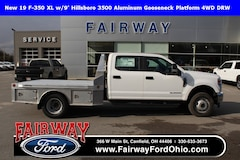 2019 Ford F-350SD XL w/9ft Hillsboro 3500 Aluminum Gooseneck Platfor 4WD Cab/Chassis