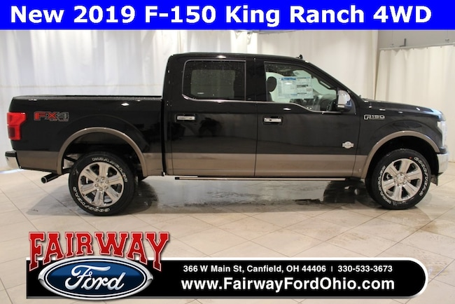 New 2019 Ford F-150 King Ranch 4WD Truck in Canfield