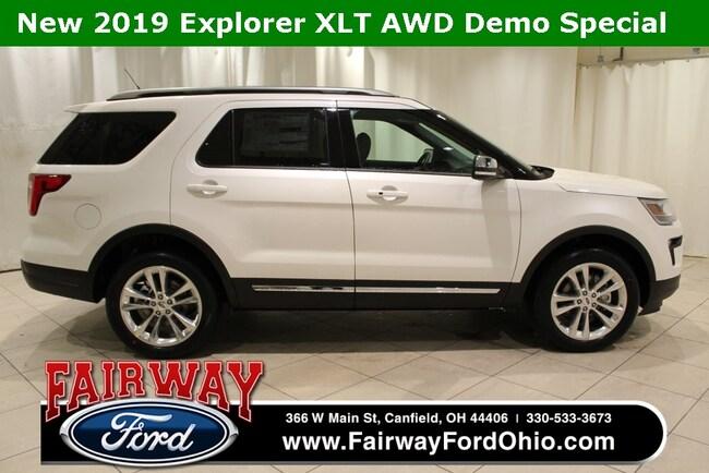 2019 Ford Explorer XLT AWD SUV
