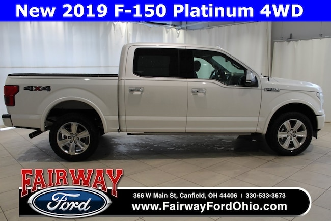New 2019 Ford F-150 Platinum 4WD Truck in Canfield