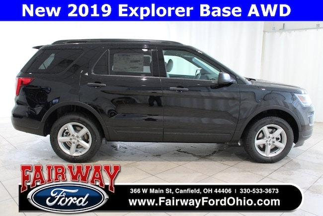New 2019 Ford Explorer Base AWD SUV in Canfield