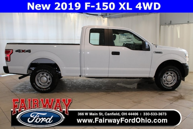 New 2019 Ford F-150 XL 4WD Truck in Canfield