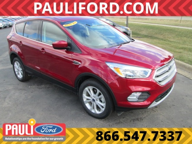 New 2019 Ford Escape SE SUV For Sale Saint Johns MI