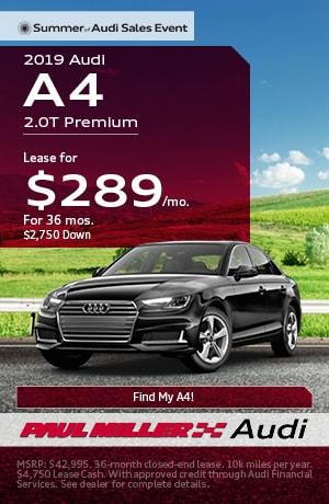 Audi Lease Deals in Parsippany NJ   North Jersey   Paul Miller Audi