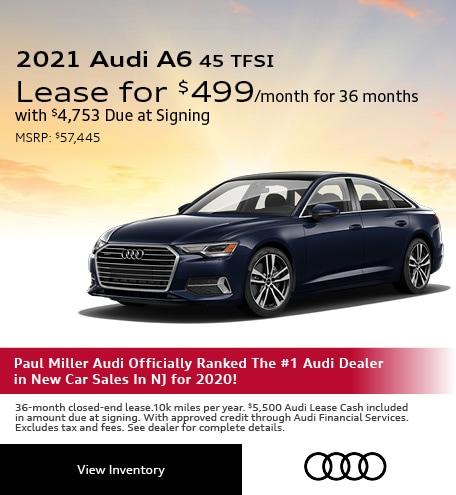 2021 Audi A6 45 TFSI May