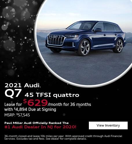 2021 Audi Q7 45 TFSI quattro