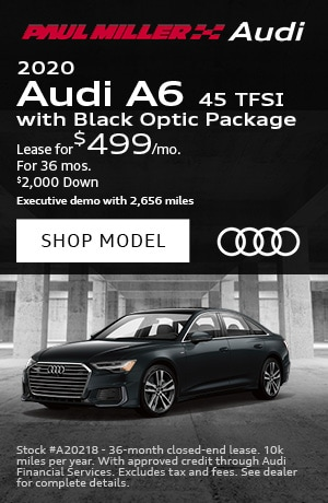 2020 Audi A6 45 TFSI with Black Optic Package