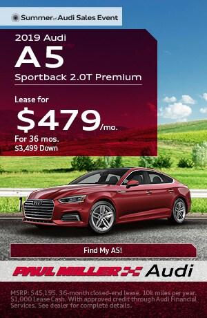 Audi Lease Deals >> Audi Lease Deals In Parsippany Nj North Jersey Paul Miller Audi