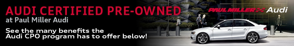 Audi Certified PreOwned In Parsippany NJ Near Morristown West - Audi certified pre owned warranty review