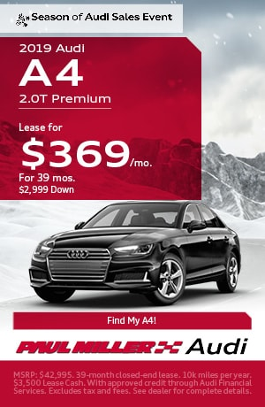 Car Lease Deals Nj >> Audi Lease Deals Nj Paul Miller Audi