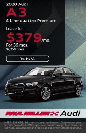 2020 - Audi - A3 S Line quattro Premium