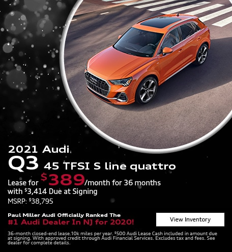 2021 Audi Q3 45 TFSI S line quattro