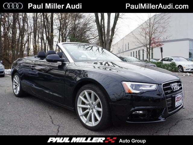 Certified Used Vehicles 2015 Audi A5 2.0T Premium Convertible in Parsippany, NJ