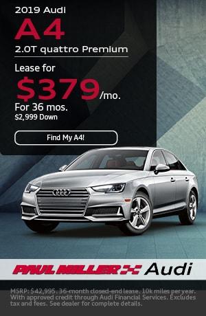 2019 - Audi - A4 2.0T quattro Premium