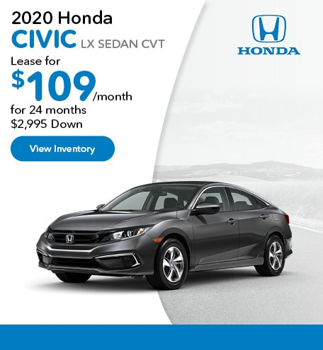 2020 Honda Civic LX Sedan CVT