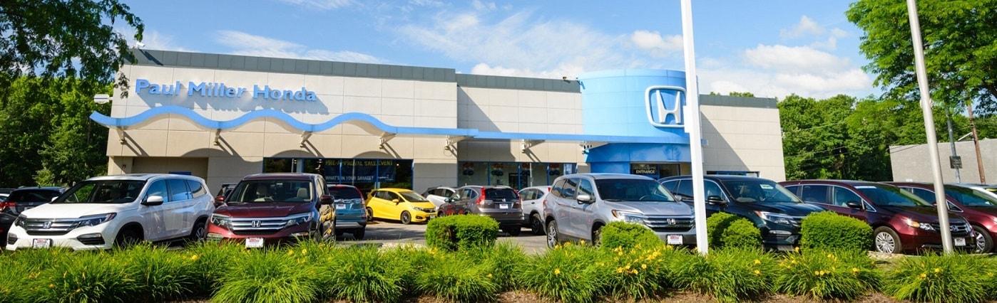 Honda Dealerships In Nj >> Honda Dealer Near Clifton Nj Paul Miller Honda Of West
