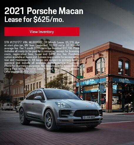 2021 Porsche Macan April