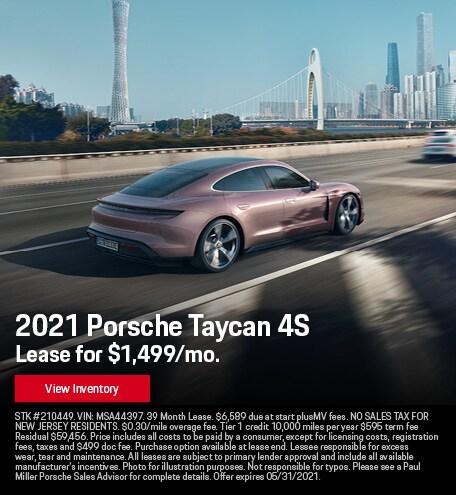 2021 Porsche Taycan 4S May