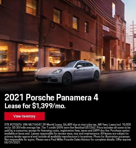 2021 Porsche Panamera 4 May