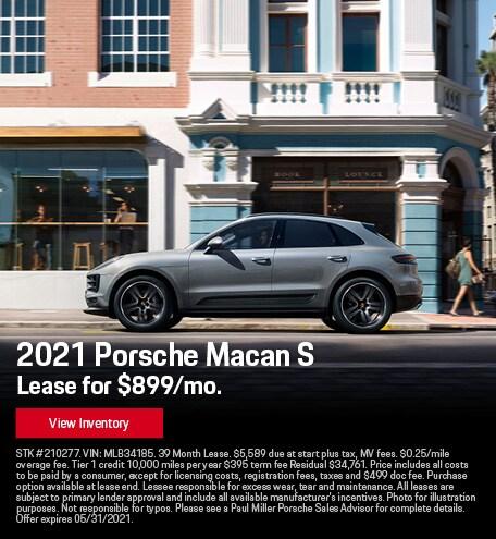 2021 Porsche Macan S May